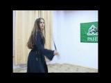 Девушка с шашками (Русский стиль, казачий)